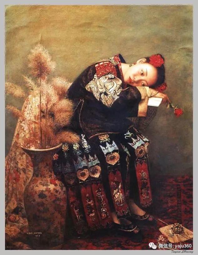 王俊英女性油画欣赏插图13