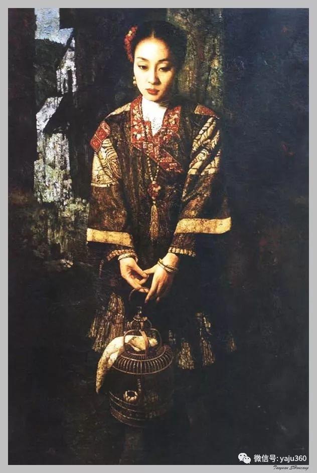 王俊英女性油画欣赏插图15