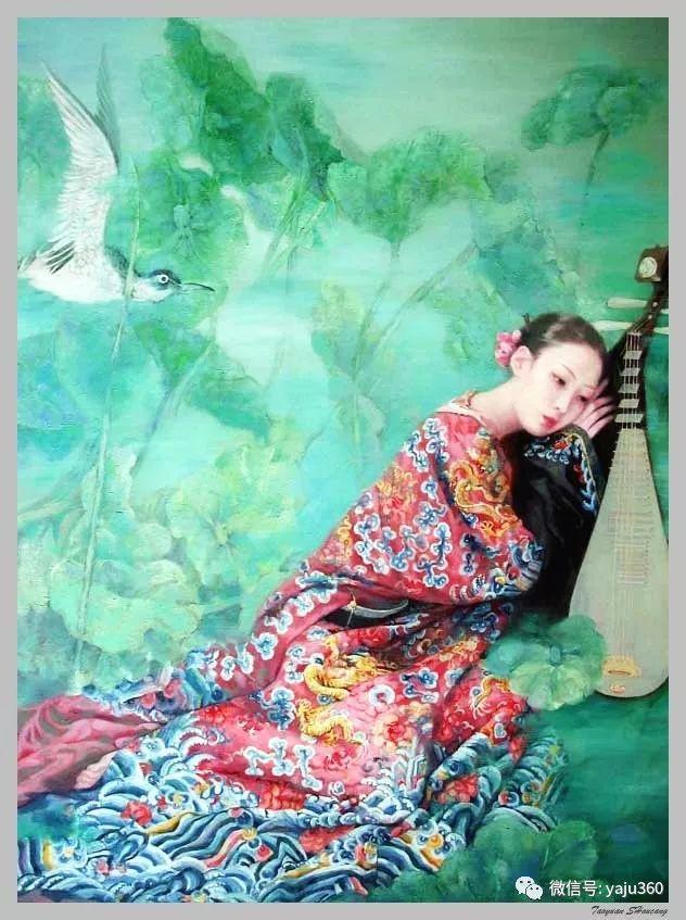王俊英女性油画欣赏插图17