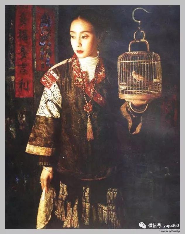 王俊英女性油画欣赏插图21