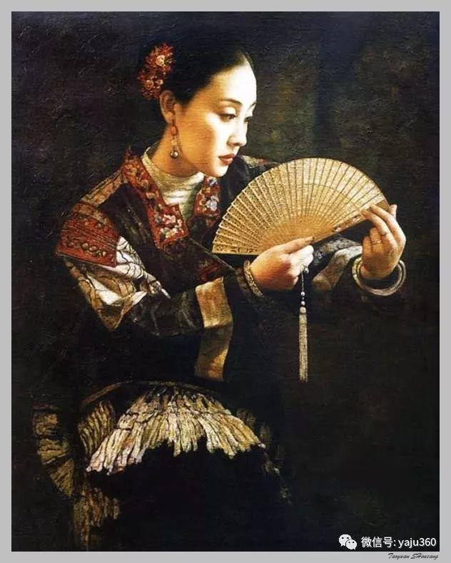 王俊英女性油画欣赏插图25