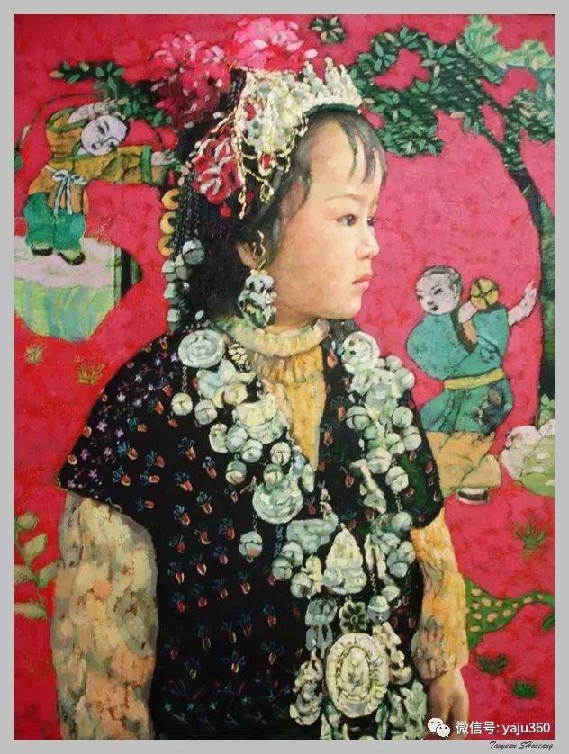 王俊英女性油画欣赏插图27
