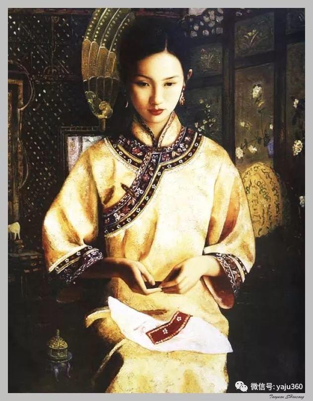 王俊英女性油画欣赏插图29