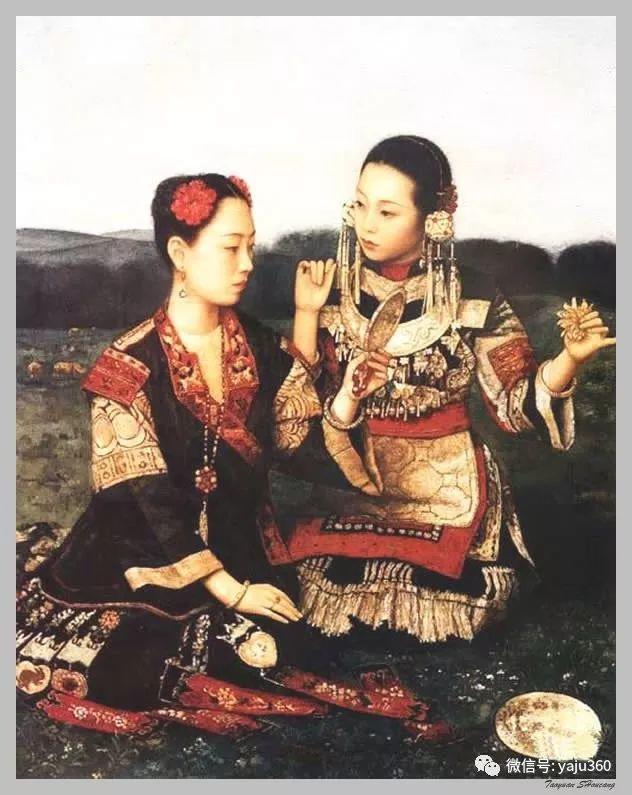 王俊英女性油画欣赏插图33