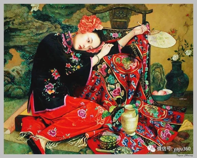 王俊英女性油画欣赏插图37