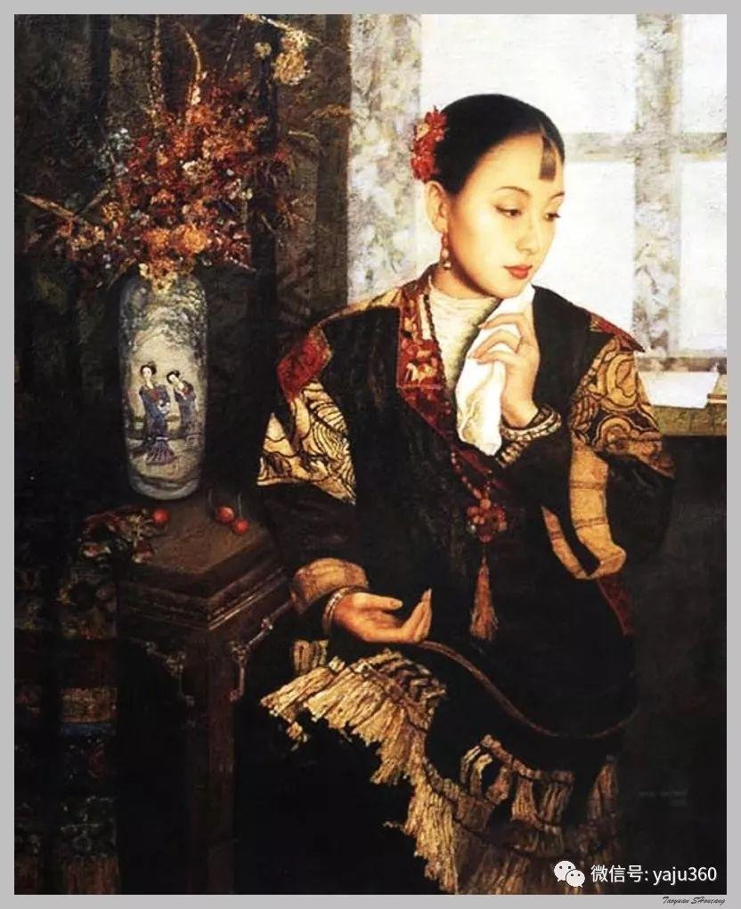 王俊英女性油画欣赏插图39