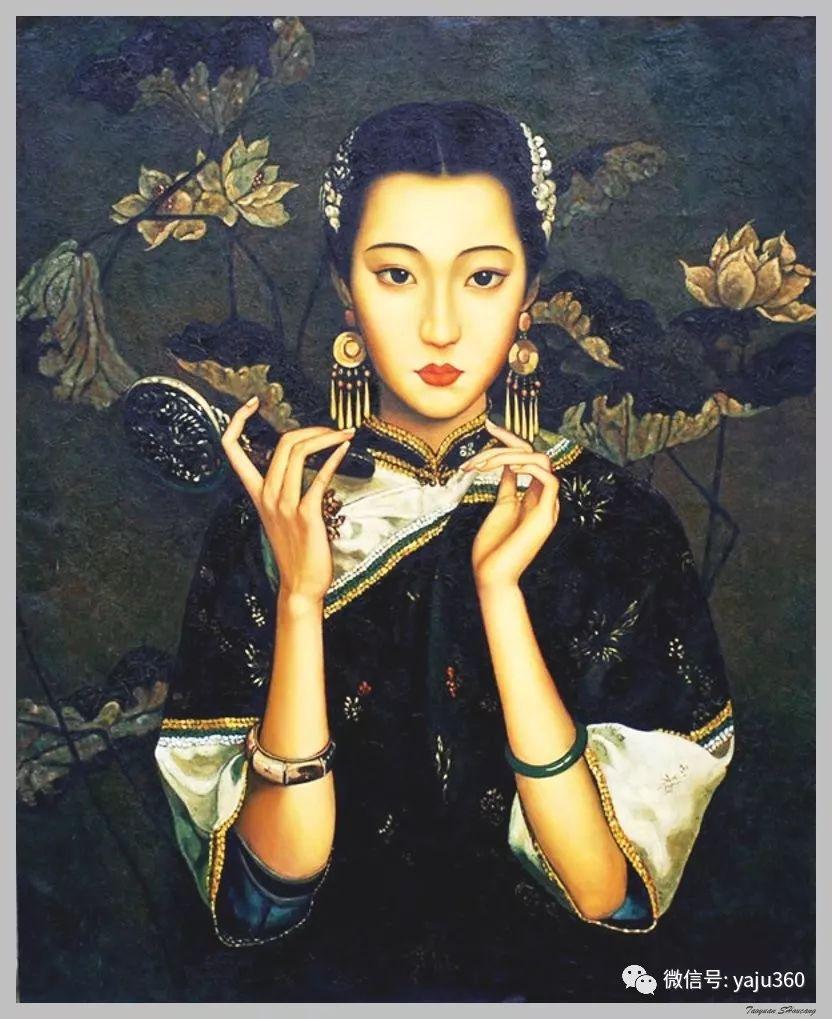 王俊英女性油画欣赏插图41