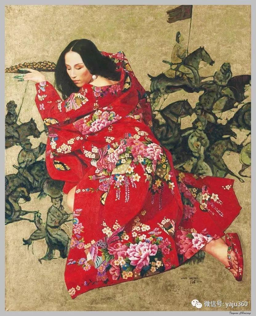 王俊英女性油画欣赏插图43