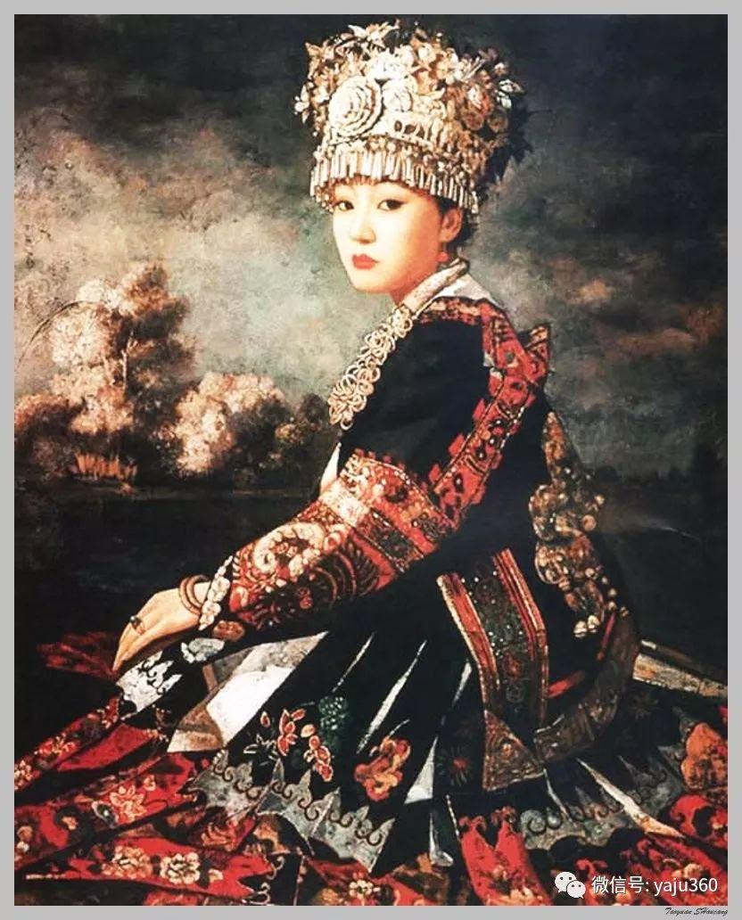 王俊英女性油画欣赏插图45