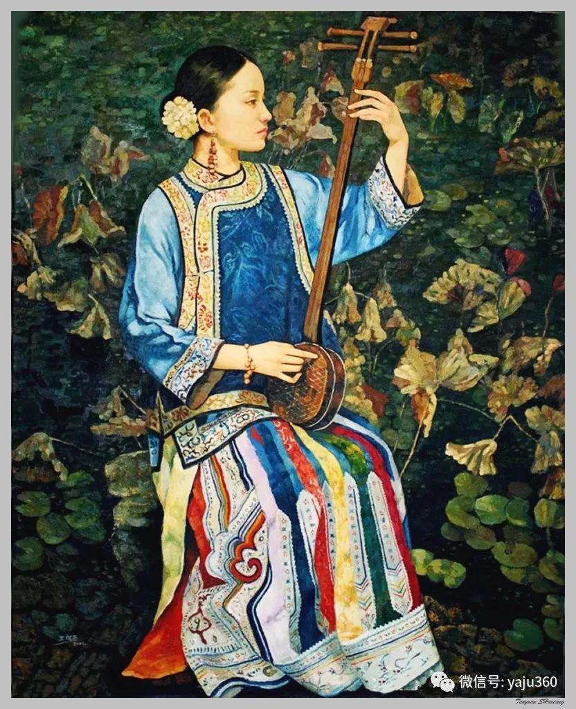王俊英女性油画欣赏插图47
