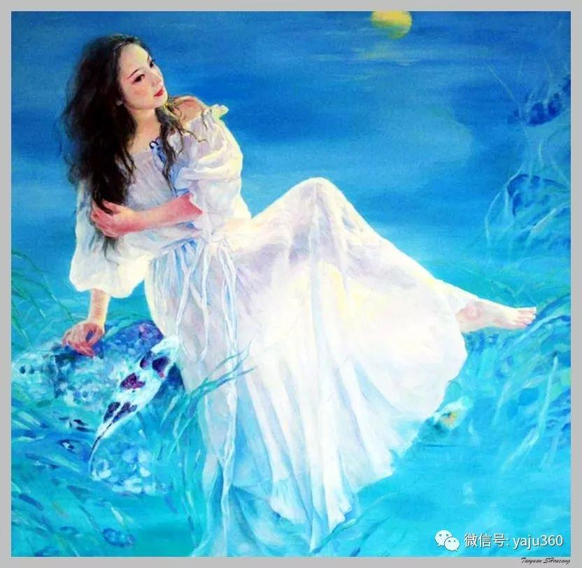 王俊英女性油画欣赏插图53