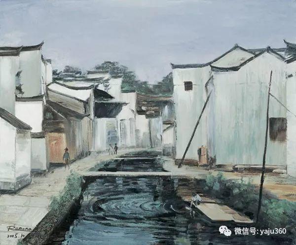 郑莺玉油画作品欣赏插图6