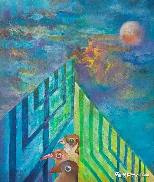 荷兰女艺术家Magda knap绘画作品插图3