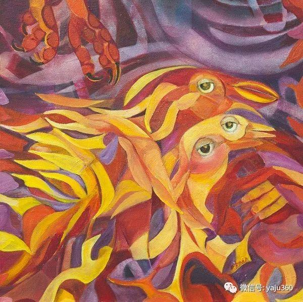 荷兰女艺术家Magda knap绘画作品插图13