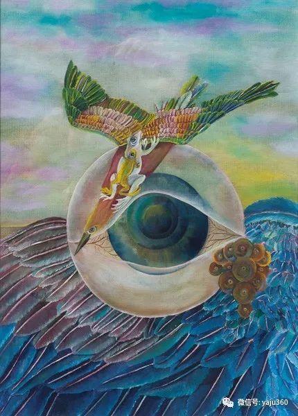 荷兰女艺术家Magda knap绘画作品插图25