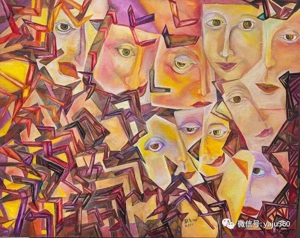 荷兰女艺术家Magda knap绘画作品插图33