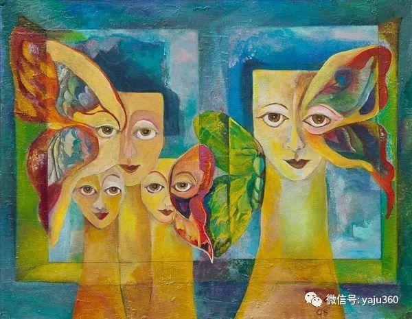 荷兰女艺术家Magda knap绘画作品插图37