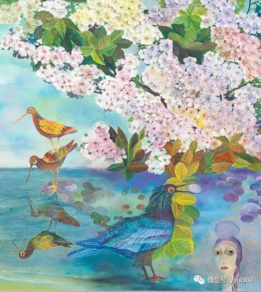 荷兰女艺术家Magda knap绘画作品插图57