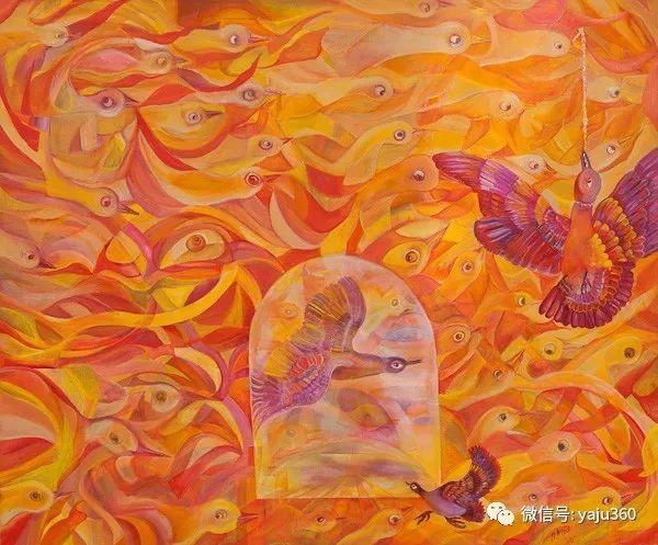 荷兰女艺术家Magda knap绘画作品插图89