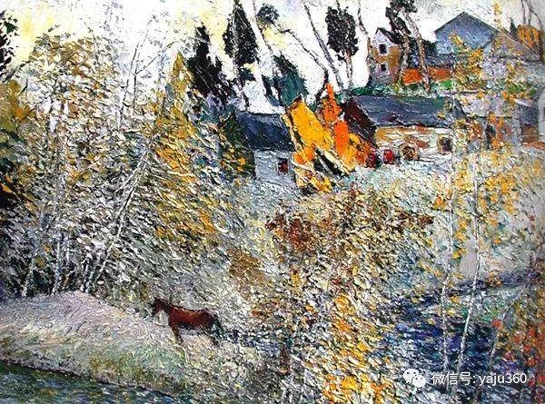黄来铎风景油画作品欣赏插图15