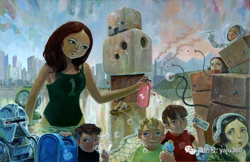 美国jasinski油画作品欣赏二插图1