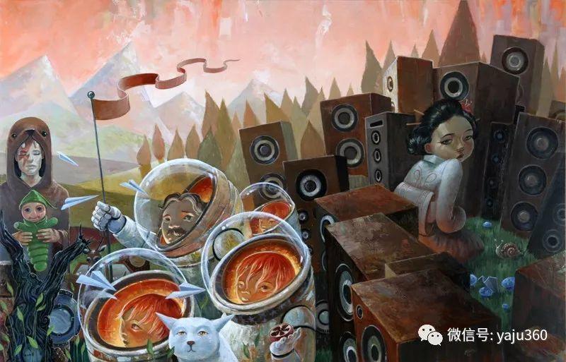 美国jasinski油画作品欣赏二插图3