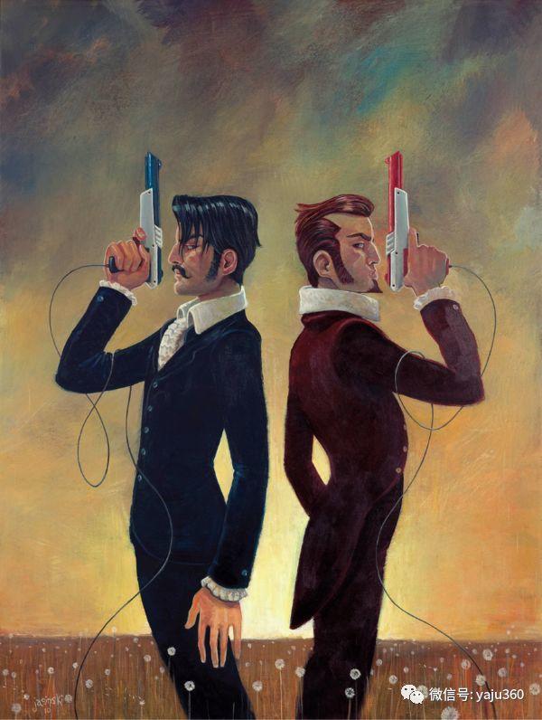 美国jasinski油画作品欣赏二插图39