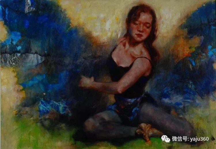 中国台湾画家James Wu绘画欣赏插图1