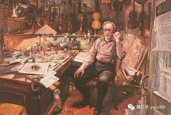 36图 哈萨克斯坦Daud Akhriev绘画作品插图
