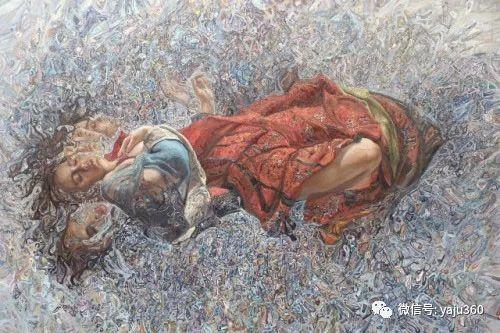 36图 哈萨克斯坦Daud Akhriev绘画作品插图9