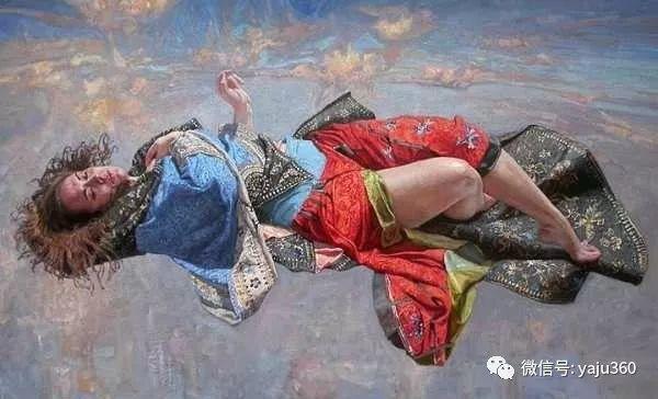 36图 哈萨克斯坦Daud Akhriev绘画作品插图5