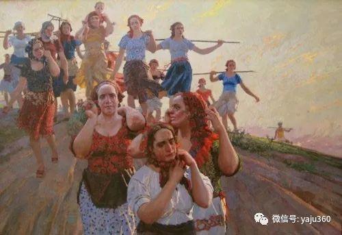 36图 哈萨克斯坦Daud Akhriev绘画作品插图21