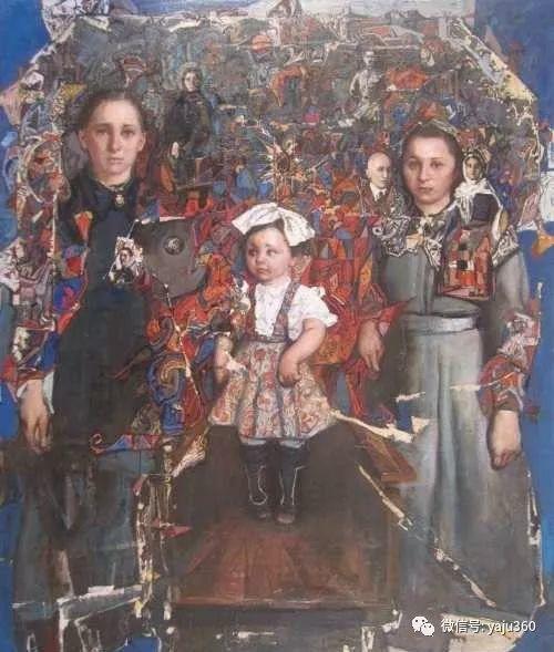 36图 哈萨克斯坦Daud Akhriev绘画作品插图25