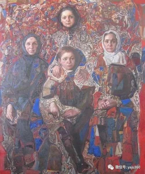 36图 哈萨克斯坦Daud Akhriev绘画作品插图14