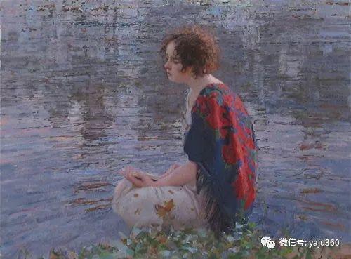 36图 哈萨克斯坦Daud Akhriev绘画作品插图33