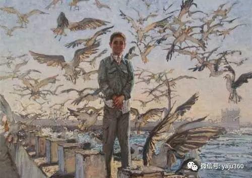 36图 哈萨克斯坦Daud Akhriev绘画作品插图41