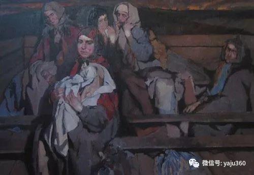 36图 哈萨克斯坦Daud Akhriev绘画作品插图29