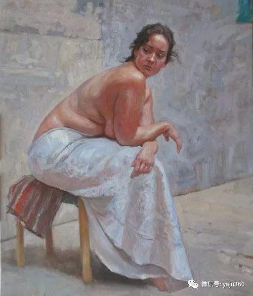 36图 哈萨克斯坦Daud Akhriev绘画作品插图31