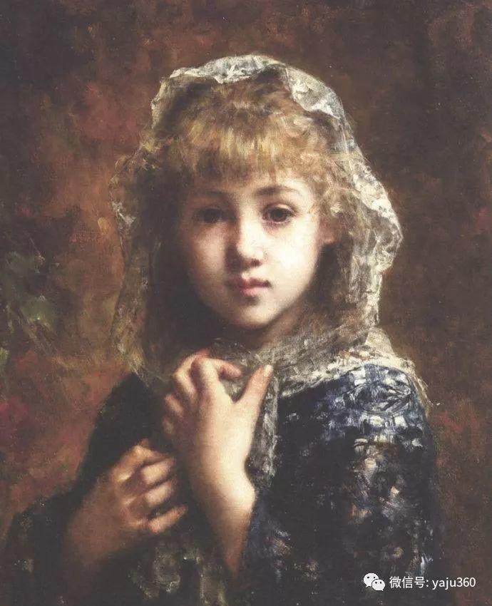 唯美女性肖像插图1