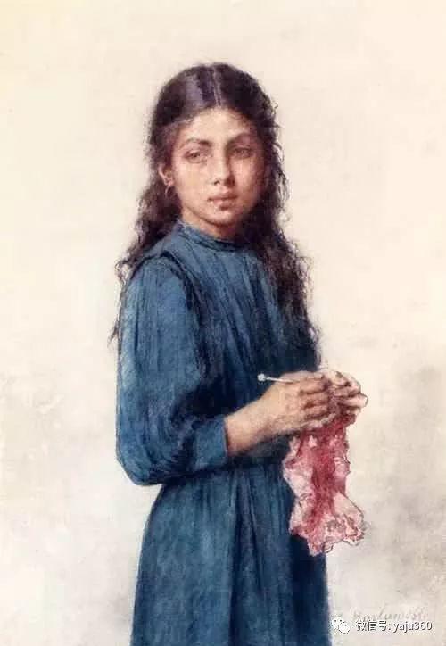 唯美女性肖像插图5