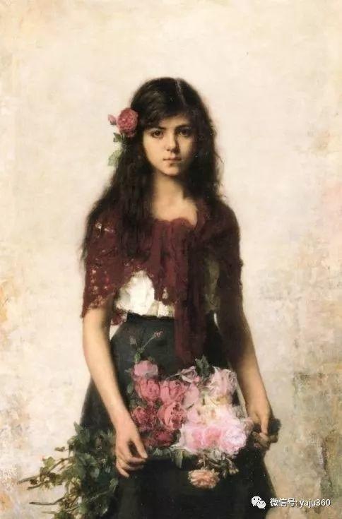 唯美女性肖像插图13