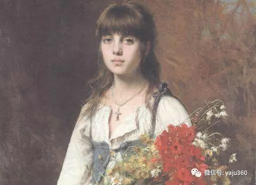 唯美女性肖像插图17