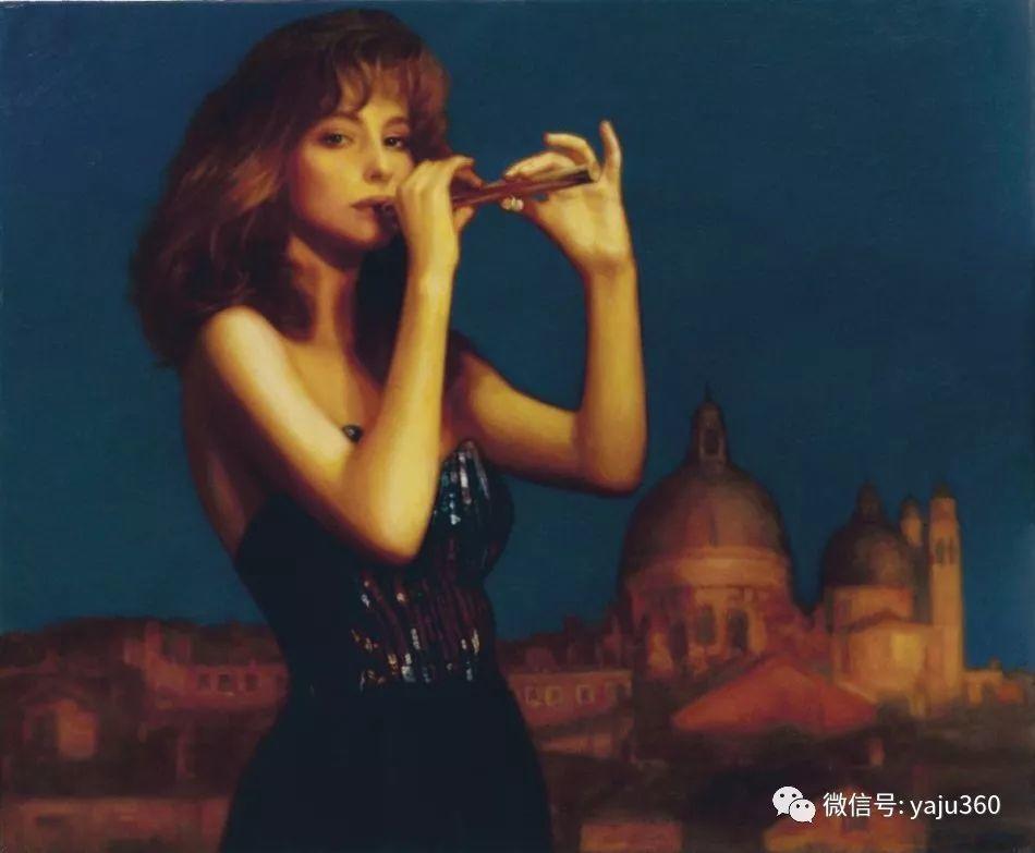 陈逸飞油画作品集插图8