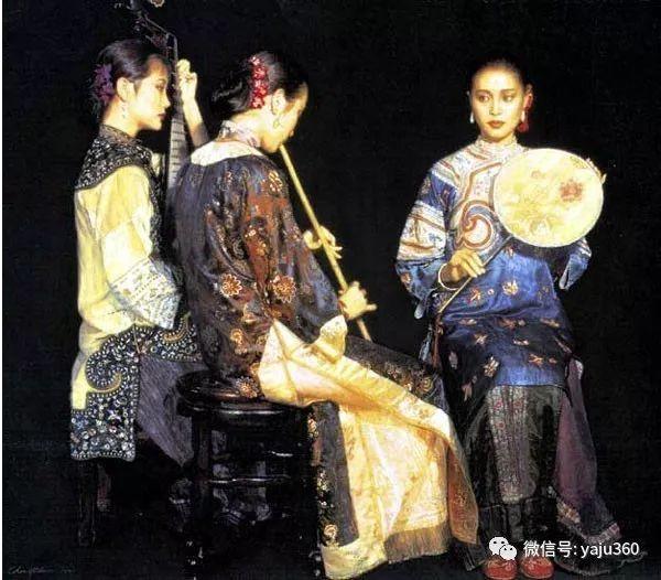 陈逸飞油画作品集插图14