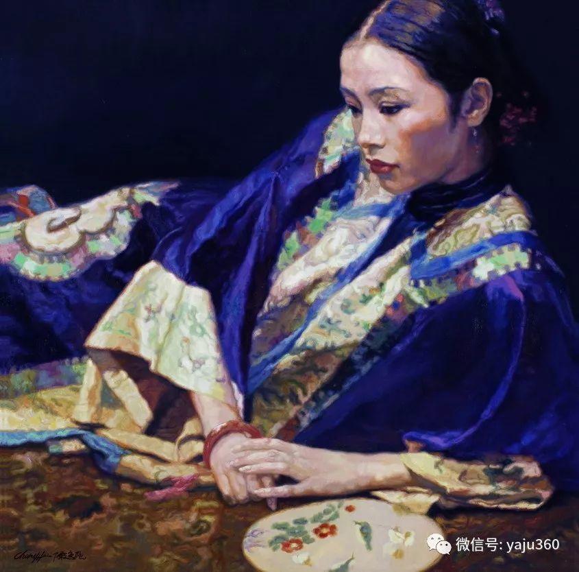 陈逸飞油画作品集插图19