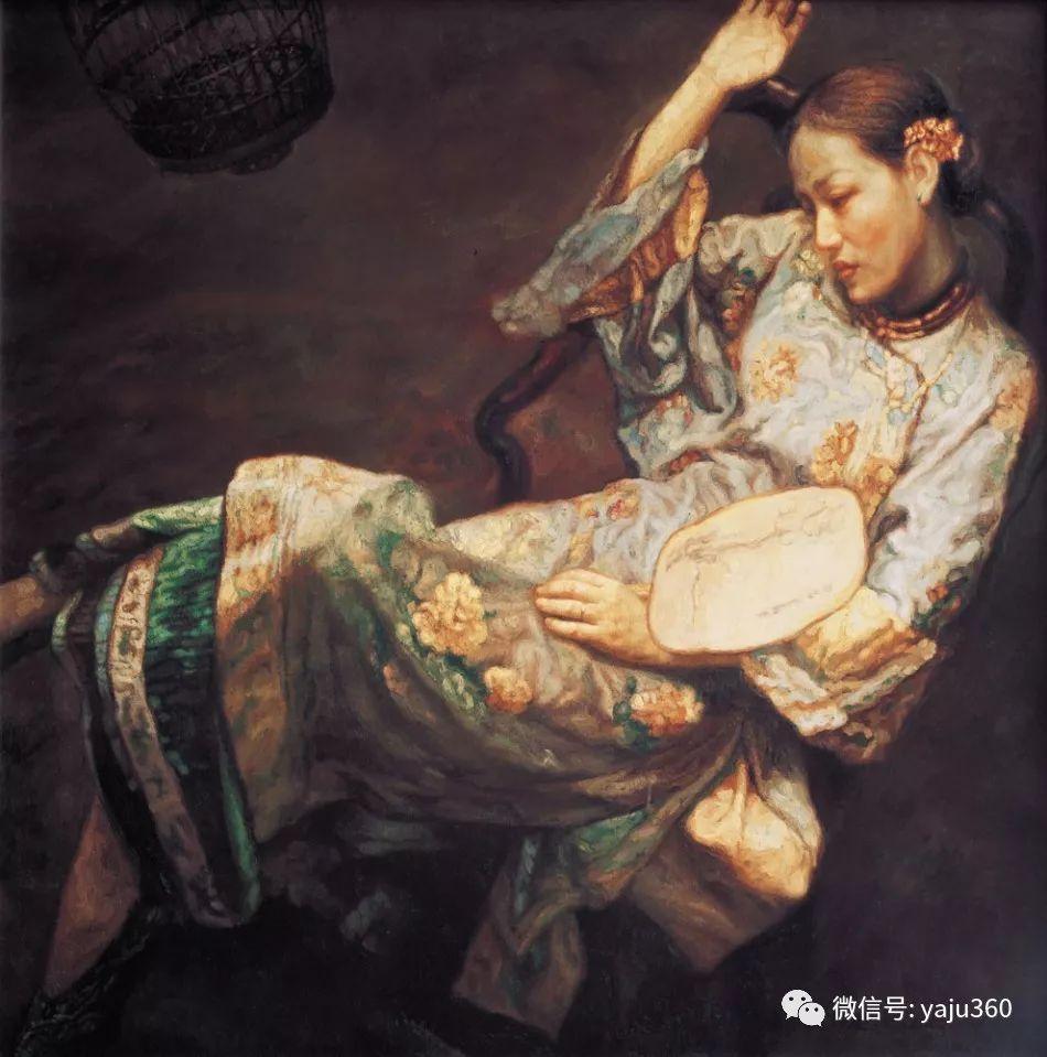 陈逸飞油画作品集插图26