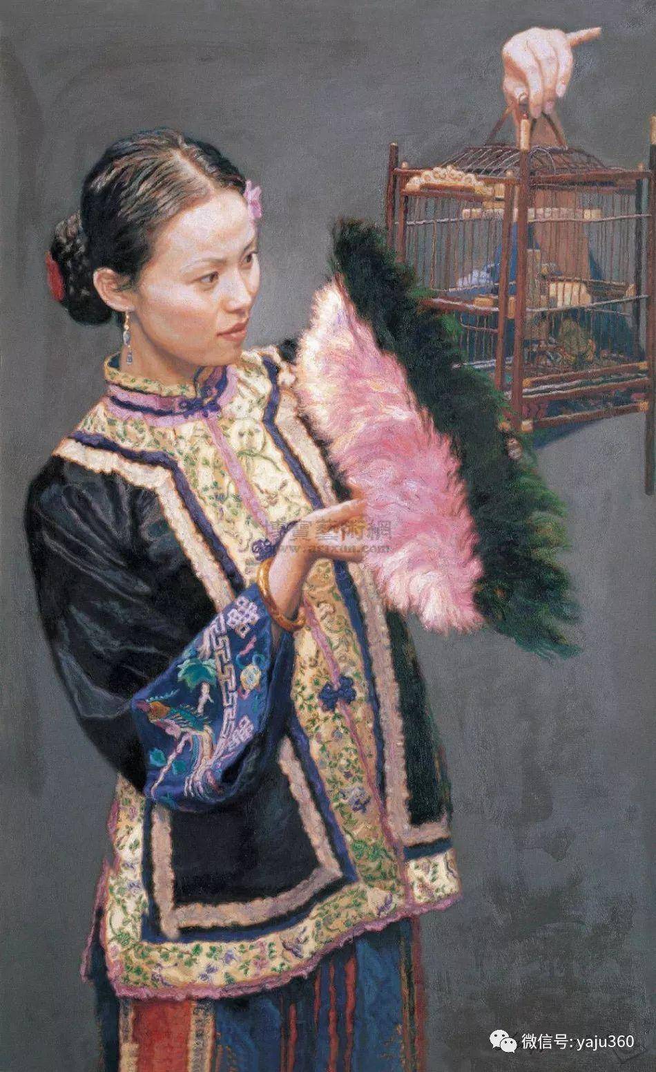陈逸飞油画作品集插图29