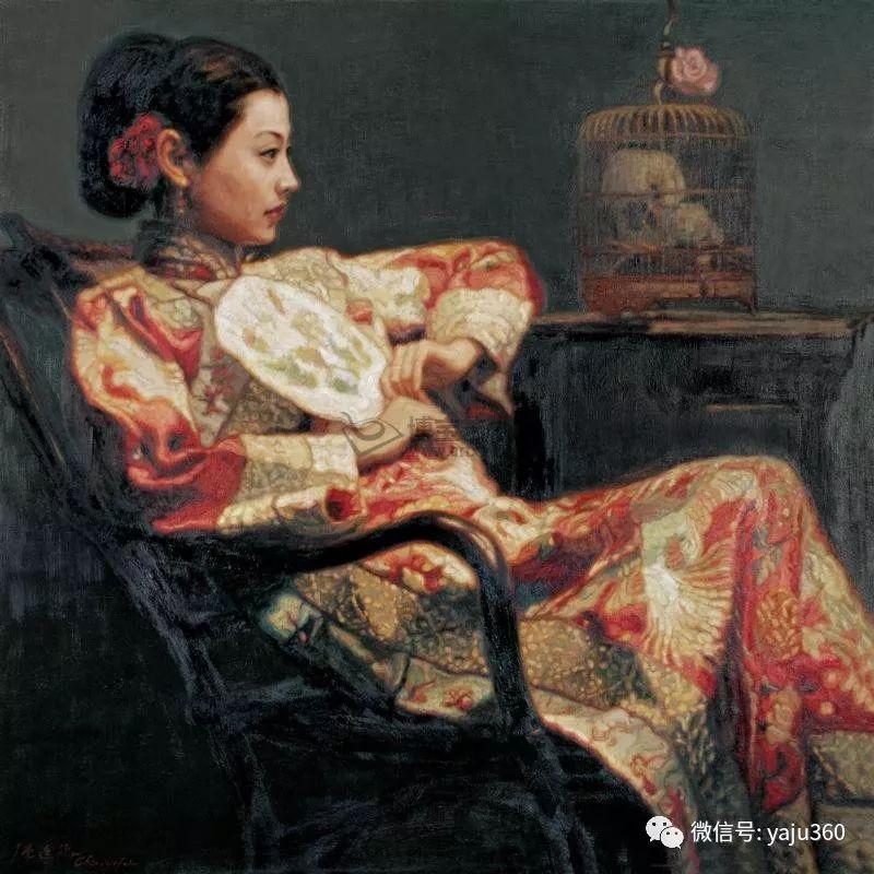 陈逸飞油画作品集插图40