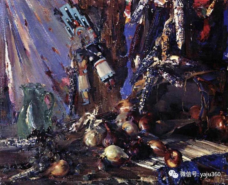 俄裔美籍Nicolai Fechin油画作品插图7