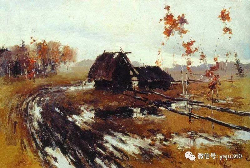 俄裔美籍Nicolai Fechin油画作品插图17
